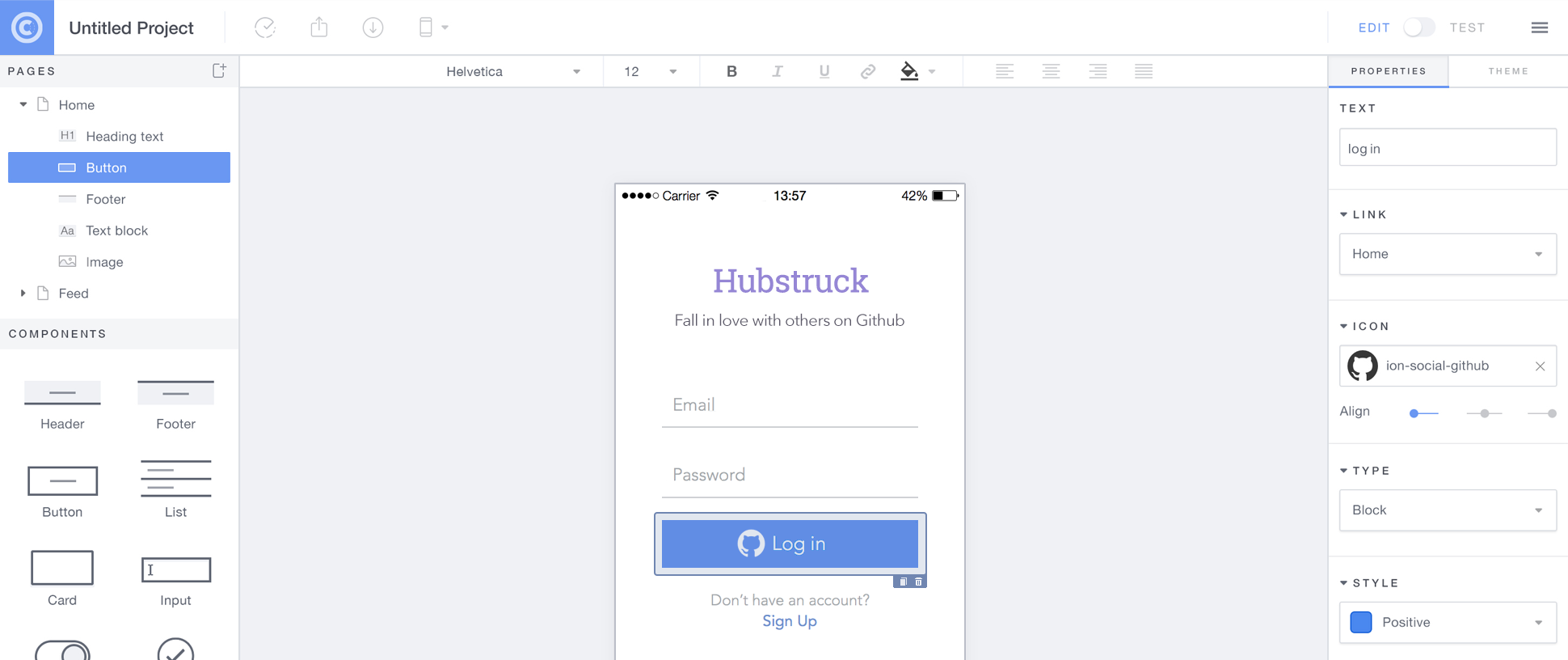 angularjs external template - building hybrid apps with angularjs and ionic